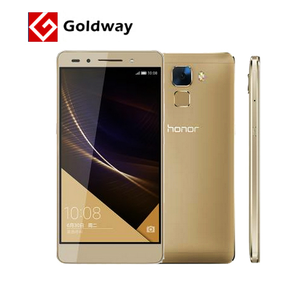 "Original Huawei Honor 7 64GB ROM 4G LTE Mobile Phone Octa Core 5.2"" 1920x1080p 3GB RAM 20MP Camera Android 5.0 Lollipop(Hong Kong)"