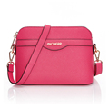 Ladies Mini Small Shoulder Bag Trendy Classic Shell Bag Solid Color High Quality Bag Women Fashion