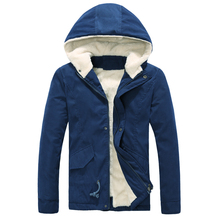Time-limited Free shipping 2014 Cotton Fleece Men Winter Jacket New Arrived Sports Outdoor Down Coat Men XXXL