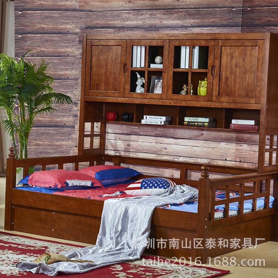 Solid Wood Kids Bedroom Furniture Promotion Shop For
