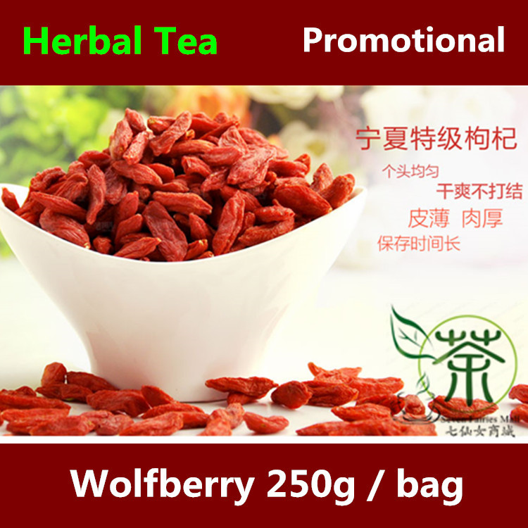 Tea / Herbal Tea Goji Berry Wolfberry 500g, 250g*2 Personal Health Care Of Organic Flavored Tea, Lycium Barbarum Wolfberry Dried<br><br>Aliexpress