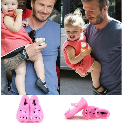 Мальчики и девочки дети в сандалии для mini мелисса котенок желе обувь бант обувь