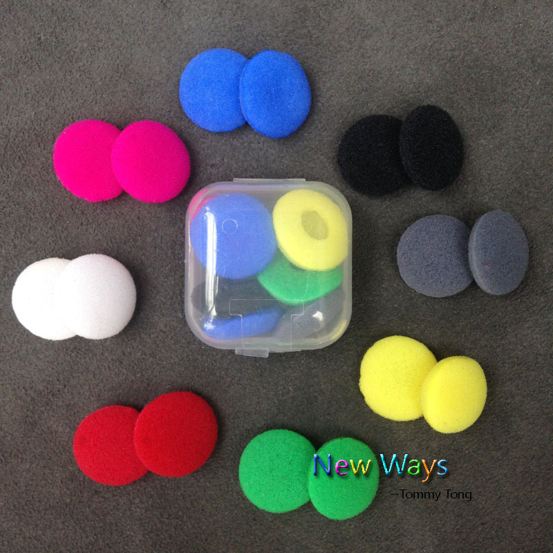 10pairs 20pcs 15mm Foam Earbud earphone ear buds Headphone Ear pads cushion Replacement Sponge Covers Tips For Earphone MP3 MP4(China (Mainland))