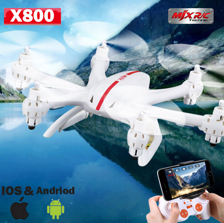 MJX X800 2.4G RC Quadcopter Drone Rc Helicopter 6-axis Can Add C4005 Wifi