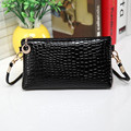 Hot Sale Exquisite Luxury Beautiful Fashion Women Crocodile Leather Messenger Crossbody Clutch Shoulder Handbag Free Shipping