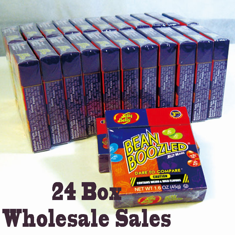 Amazing Box Bean Boozled Jelly Beans Crazy Sugar Adventure Tricky Game Funny Harry Candy With English Instruction(China (Mainland))