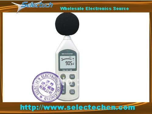 Free Shipping Digital Noise and Sound Level Meter SE-1357<br><br>Aliexpress