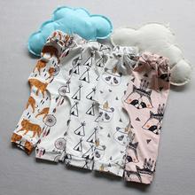 Boys Girls Harem Pants Tiger Panda Printed For Toddler Baby Bottoms Harem Pants/Leggins Dreamcatcher Geometric Children Clothes(China (Mainland))
