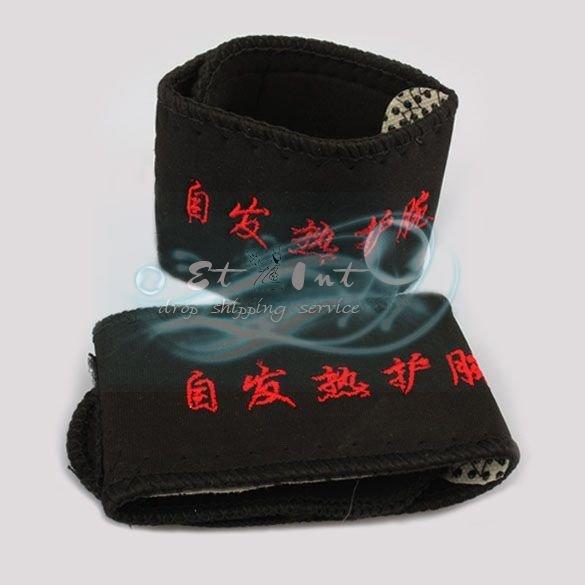 Wholesale Self-heating Braces Therapy Wrist Brace Spontaneous Heating Magnetic Belts 2 Pcs