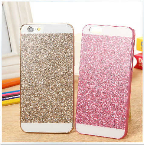 2016 New Fashion PC Glitter Phone Case For iPhone 5 5S 5G Hard Bling cell phone case covers funda(China (Mainland))