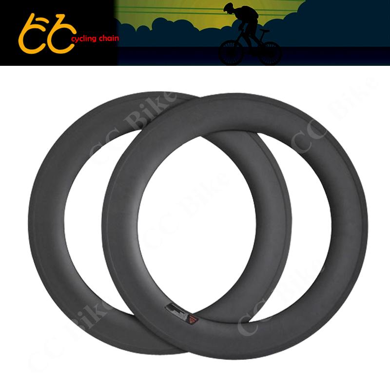 100% Carbon Fiber 88mm Clincher Carbon Rim  700c Road  Bicycle wheels Rim 25mm Width CC-WR-88c-W25-T<br><br>Aliexpress