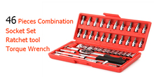 Buy 46 Pieces Combination Socket Set Ratchet tool Torque Wrench Repair Auto Repair Hand Tools Wrench Combination Set Key AD2001 for $7.60 in AliExpress store