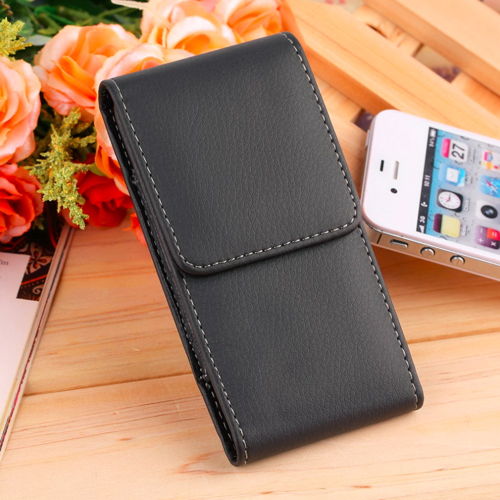 New Simple PU Leather Holster Pouch Phone Case Cover Belt Clip Apple iPhone 5 / 5S / 5C Wholesale