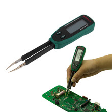 New Tweezers Smart SMD RC Resistance Capacitance Diode Meter Tester Auto Scan High Quality(China (Mainland))