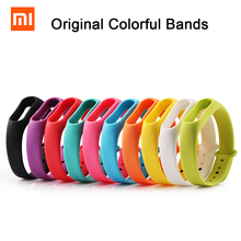 New Arrival Silicone Wrist Strap Bracelet Replacement Strap for Xiaomi Mi Band 2 MiBand 2 OLED Display Wristbands Colorful(China (Mainland))