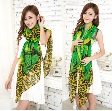 2014 Women's new floral scarves scarf shawl female winter warm - Fashion Retail Store store