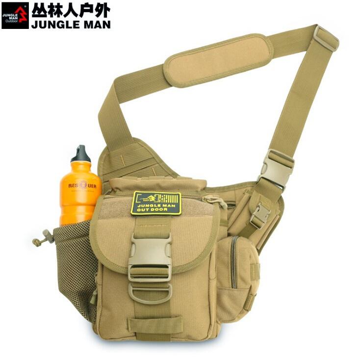 Jungle men Super Saddle Bag Messenger Bag Outdoor Climbing Package Tactical Riding Super Army Waist Bag Camera(China (Mainland))