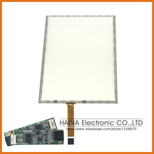 5 wire 17 Inch includes USB Cotroller Resistive Touch Screen Panel For Photo Kiosk/Laptop/Industrial equipment