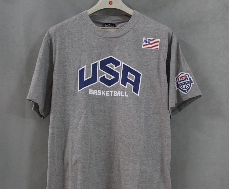 2013 summer in USA, the United States men's basketball team with more pure cotton T-shirt shirt movement(China (Mainland))