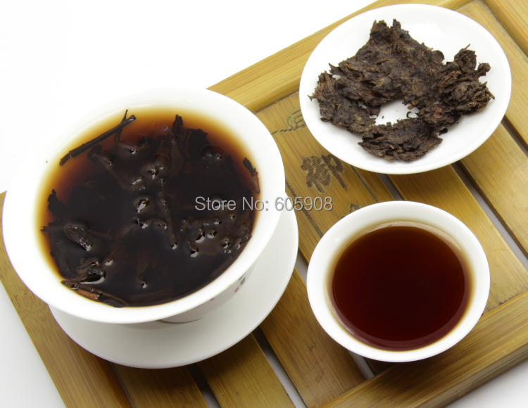 Tea Puer 90g 100g Ripe 2002 Year Yunnan Premium Puer Tea Slimming Buy 3 Get One