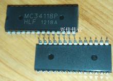 MC34118 MC34118P DIP28 phone handsfree speaker circuit chip