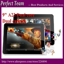 DHL Free shipping 5pcs/lot 9 inch Allwinner A23 dual core dual camera 512/8G Android 4.2.2 OS Tablet PC(China (Mainland))