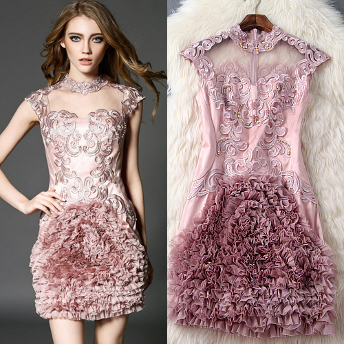 2016 spring and summer font b women b font clothes European and American fashion Exquisite embroidered