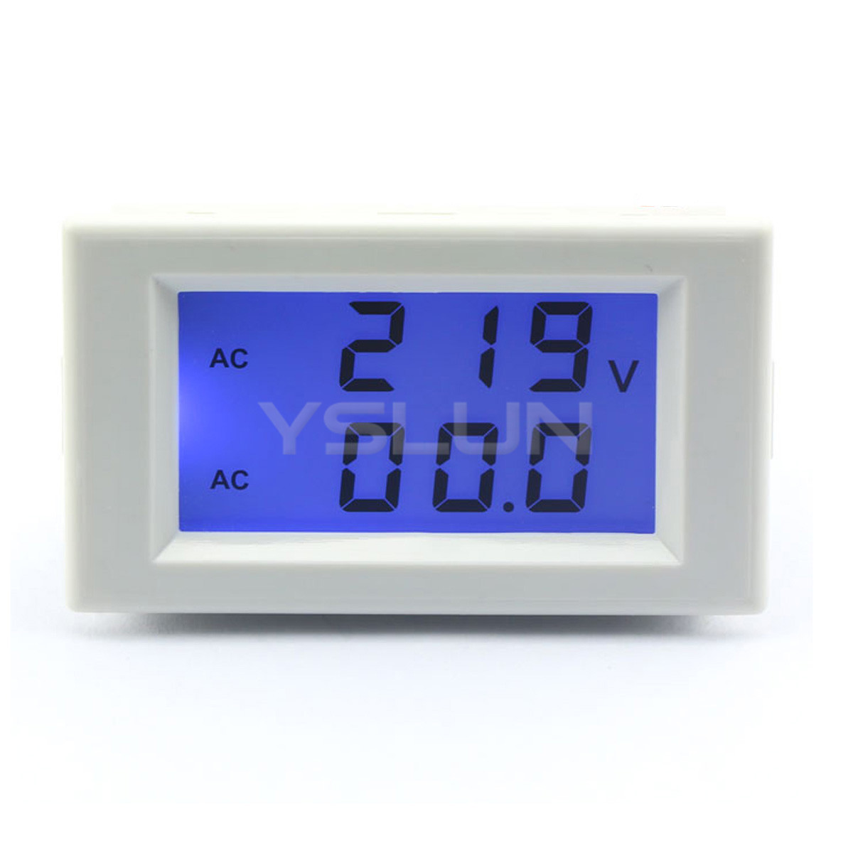 2in1 volt amp panel meter ac 200 500v 50a digital. Black Bedroom Furniture Sets. Home Design Ideas