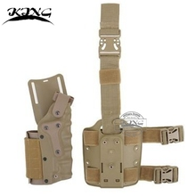 Safariland tactical gun holster Set Tactical Leg Holster plus Belt holster fits Colt 1911 / GLOCK / Beretta M92 M9