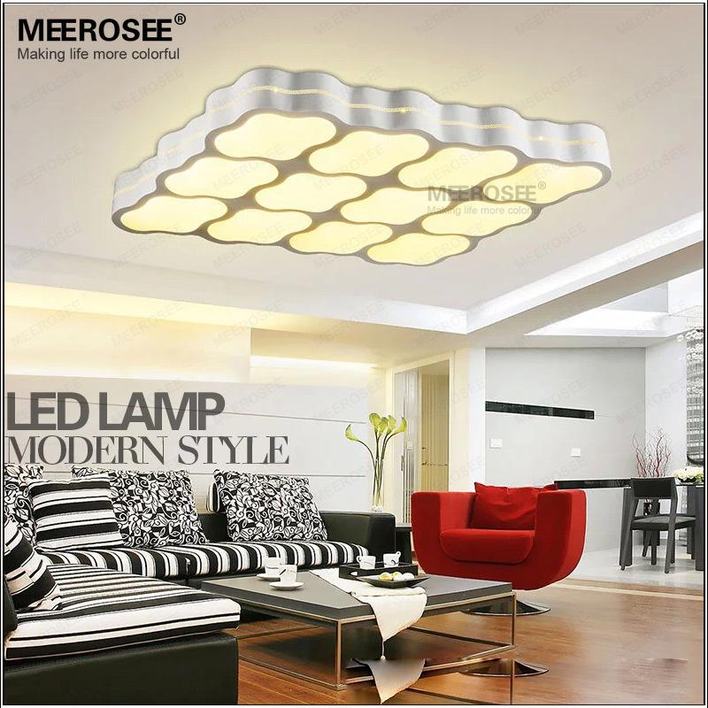 Contemporary LED Ceiling Light White Acrylic plafond Square LED Ceiling light lustre for Foyer Bedroom 100% quality assurance