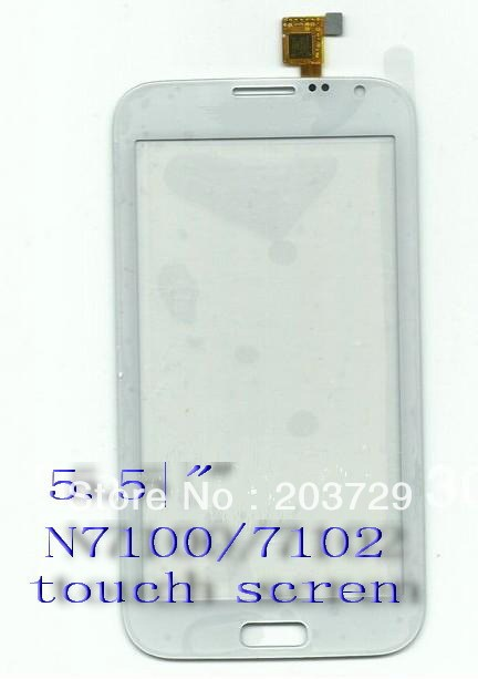 N7102 N7100 Original New Touch Screen Digitizer/Replacement Phone Free Shipping