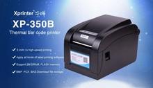 pos printer 80mm 100% New original High Speed  Driver 80mm USB port Direct Barcode Label Printer Thermal Sticker Printer XP-350B