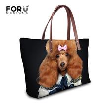 Buy FORUDESIGN Fashion Women Handbag 3D Poodle Panda Printed Large Capacity Women Shoulder Bags Animal Female Totes Bolsa Feminina for $21.99 in AliExpress store