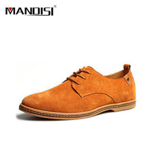 New European style 2016 californians male wanderers, Real and recreational leather Men casual shoes at all levels size 38 -48(China (Mainland))