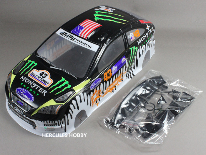 RC Body 1:10 PVC Painted 190mm Width RC Car Body Shell 1/10 On-road Drift Touring(China (Mainland))