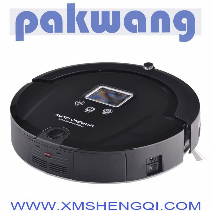 Intelligent Robot Vacuum Cleaner for Home Slim design,HEPA Filter,duct cleaning robot(China (Mainland))