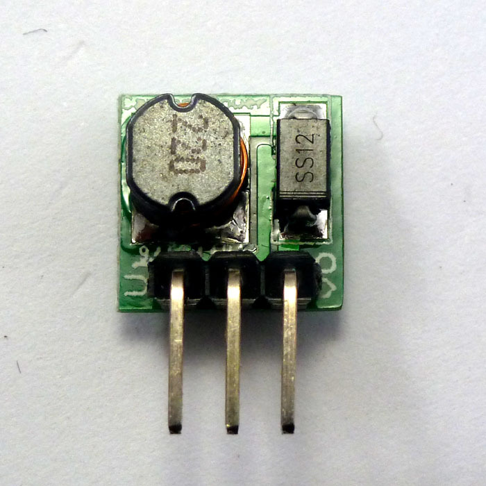 8pcs Very small DC DC 0 9 5V to DC 5V Step UP Boost Voltage Converter