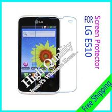 3pcs For LG E510 High clear transparent screen protector films, For LG E510 Screen Protective Film + Cloth