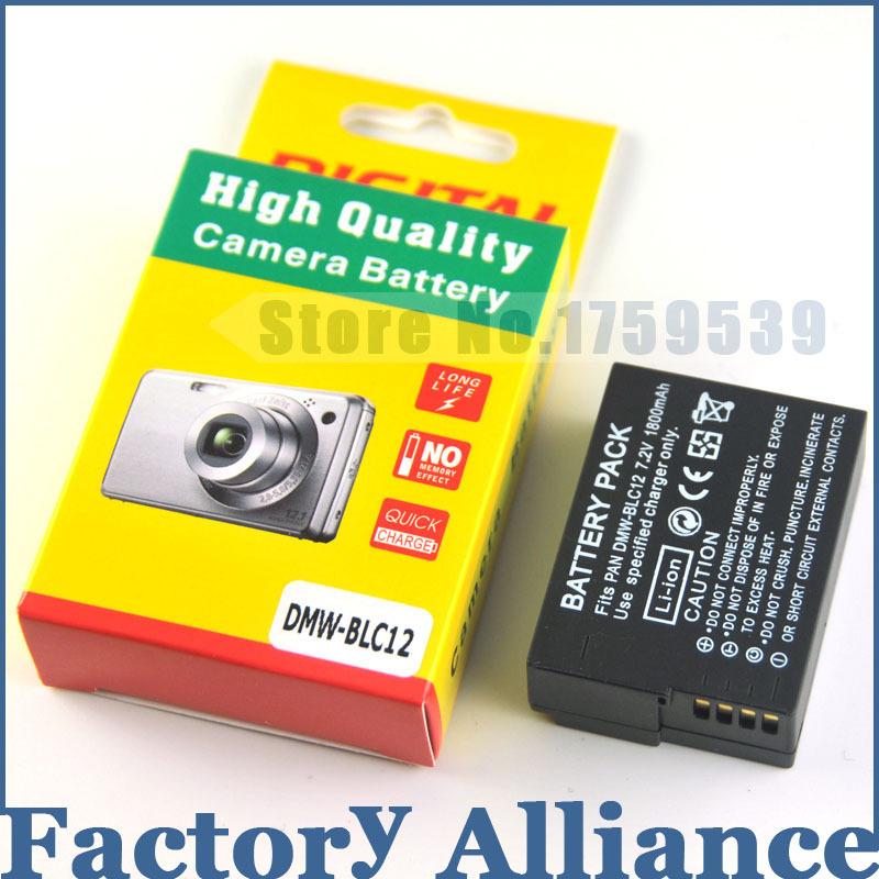 1800mAh DMW BLC12 DMW BLC12PP BLC12E BLC12 BP DC12 DC12U BP DC12 Battery for Panasonic DMC