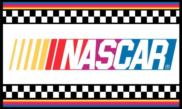 NASCAR flag 3FTx5FT Banner 100D Polyester Flag 2 metal Grommets 72152(China (Mainland))