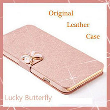 Buy Luxury Fashion Butterfly Silk Flip PU Leather Phone Case Sony Xperia S Lt26i SL Lt26ii 4.3inch Stand Free for $2.19 in AliExpress store
