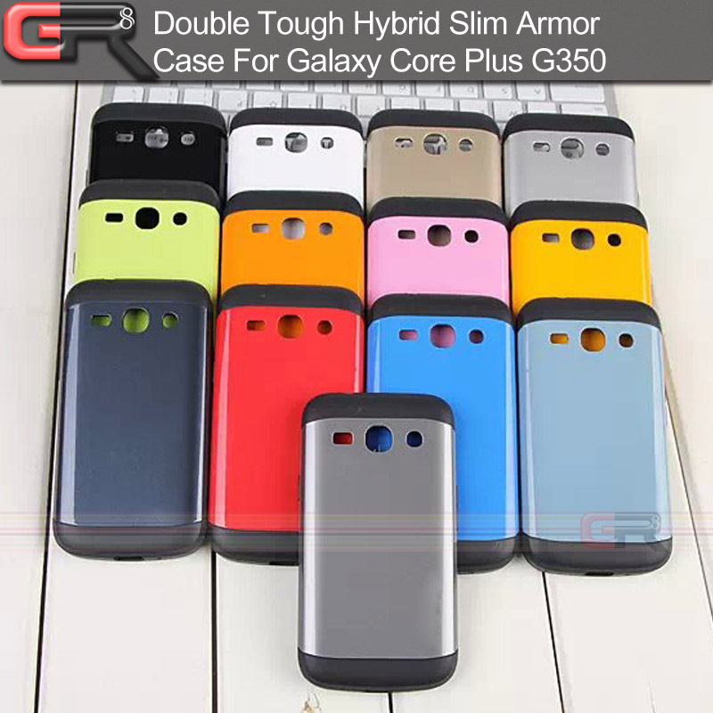 Neo Hybrid Slim Armor Back Cover Galaxy Core Plus G350 Double Tough Phone Case Samsung - GR8 Store. store