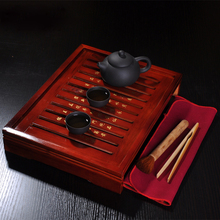 Pot cup solid wood tea tray kung fu tea set tea sea tea sets set