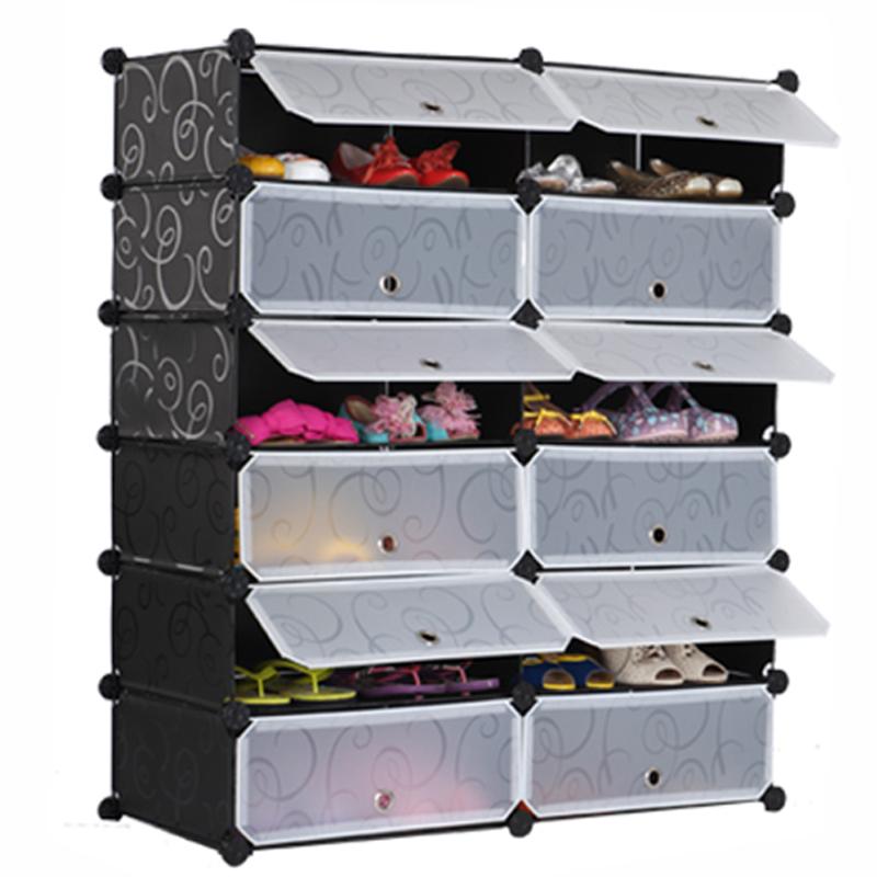 Enjoy the net storage cabinet drawer type shoe shoe Home Furnishing simple plastic shoe shoe containing dust(China (Mainland))