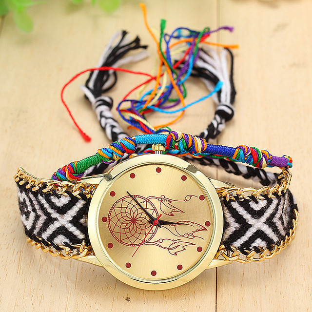 Knitted Dreamcatcher Style Watch
