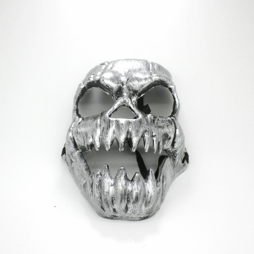 1pcs skull mask halloween mask scary terror masquerade - Mascara de terror ...