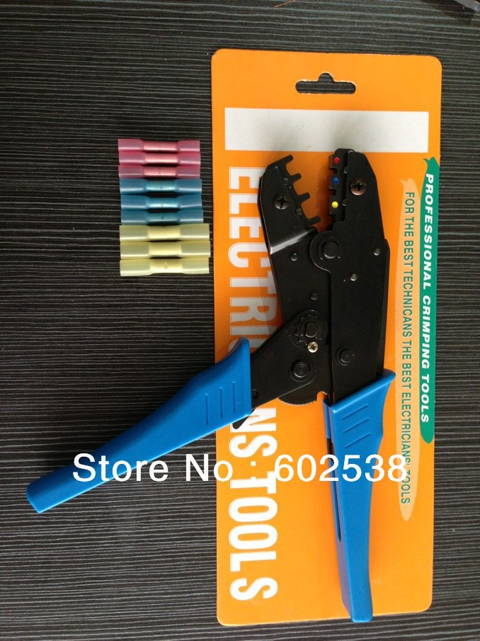 For BHT1.25 BHT2 BHT5 Heat shrinkable tube waterproof middle connector Terminal Crimping Tools(China (Mainland))