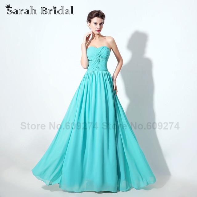 Бирюзовый цвет шифона платье невесты халат де журавль красавка d honneur роковой ...