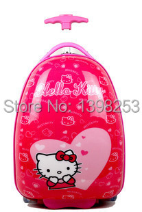 Hot Kids Trolley Bag Boy & Girl Luggage ABS PC School Bags 9 Colors 5a