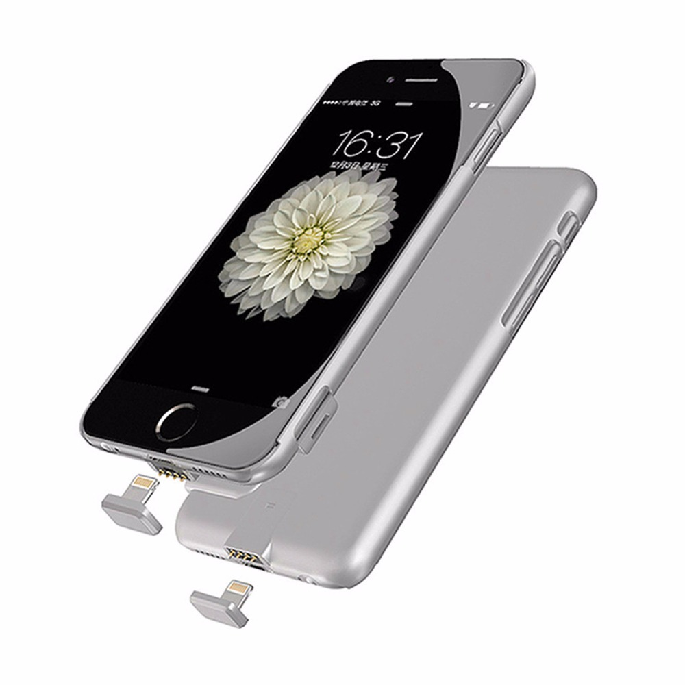 External Battery Portable Charger Power Bank Cover Case For iphone 7 plus iphone 6s plus Backup Charger Power Bank Battery case(China (Mainland))